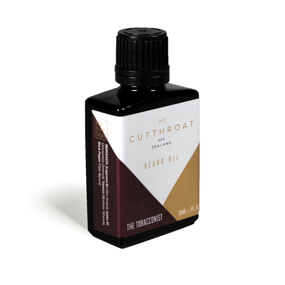 Cutthroat NZ Beard Oil - The Tobacconist