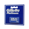 "Gillette Platinum ""Light Blue"" Double Edge Razor Blades  5 pack"