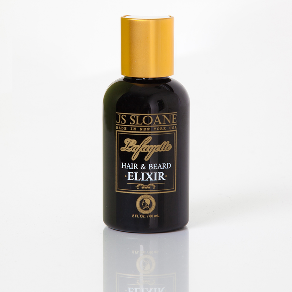 JS Sloane Lafayette Hair and Beard Elixir  2oz