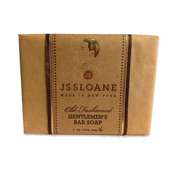 JS Sloane Old Fashioned Bar Soap