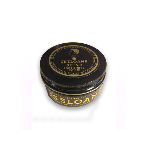 JS Sloane Shoe Shine Polish - Black