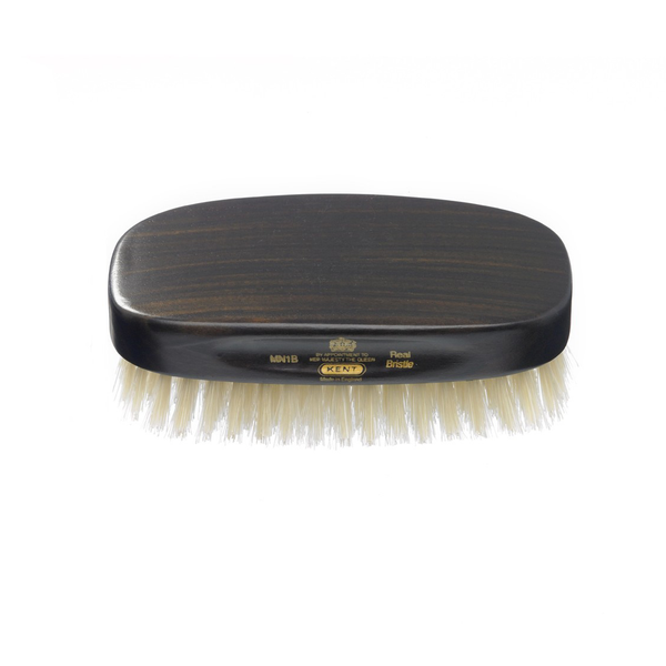 Kent MN1B Mens Military Hairbrush - Rectangular