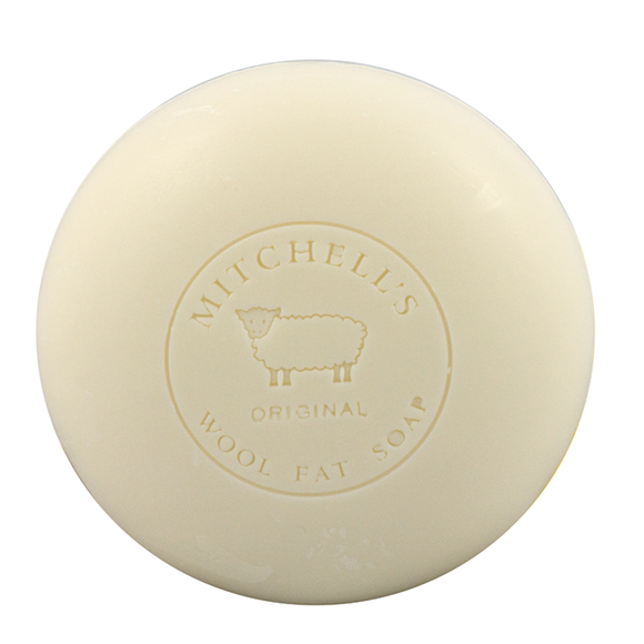 Mitchells Wool Fat Speciality Single Round Soap