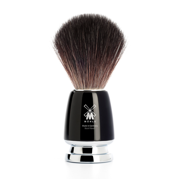 Muhle 21M226 Rytmo Black Fibre Shaving Brush - black