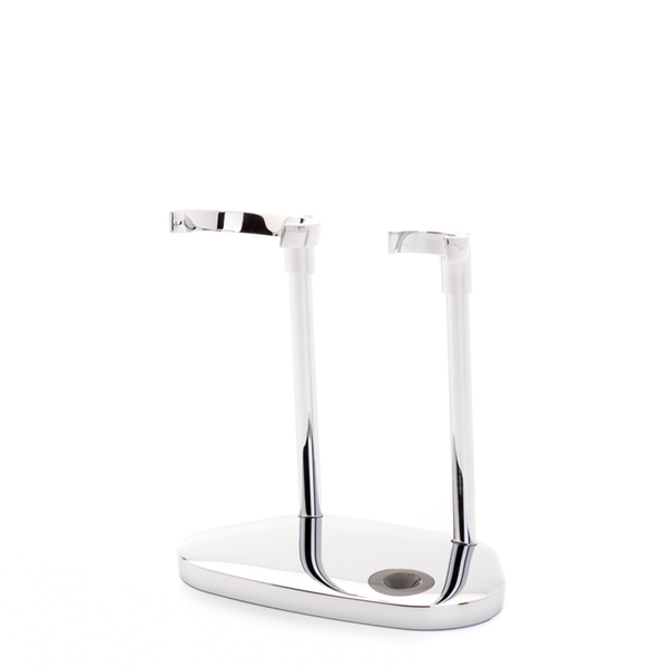 Muhle RHM HXG Hexagon Shaving Brush and Razor Stand