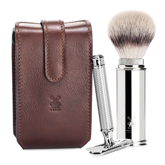 Muhle RT2 SR Safety Razor Travel Shaving Set