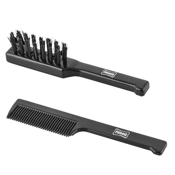 Proraso Brush and Comb Set for Beard and Moustache
