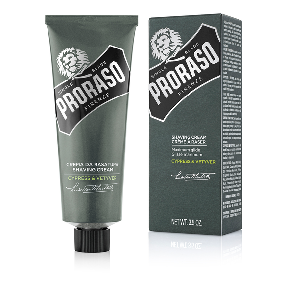 Proraso Cypress Vetyver Shaving Cream Tube