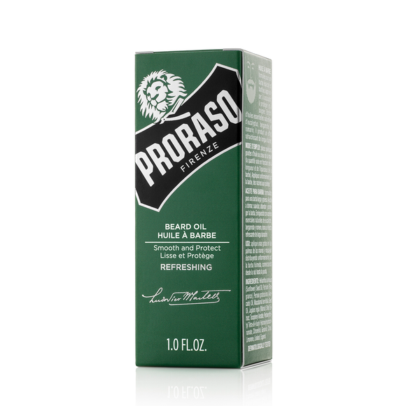 Proraso Green Refreshing beard Oil
