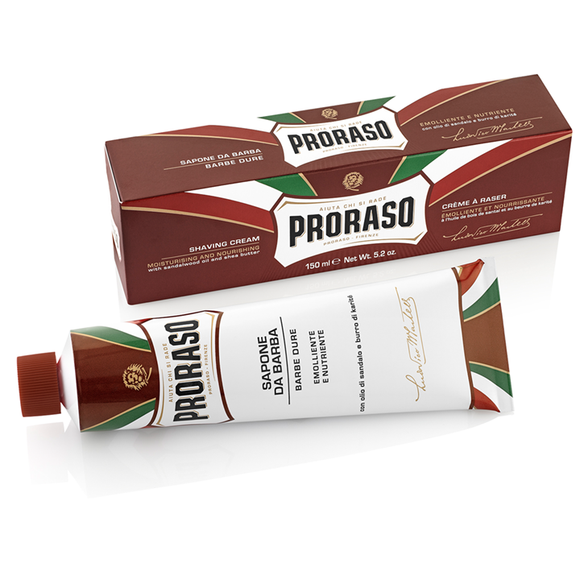Proraso Red Nourishing Shaving Cream Tube