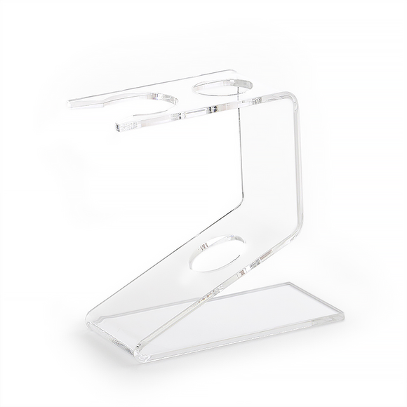 Semogue 0030 Brush and Razor Stand Clear