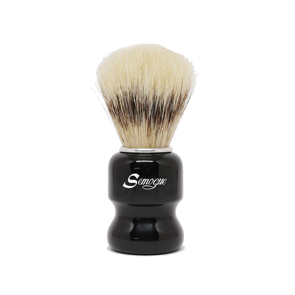 Semogue Torga C3 Extra Boar Shaving Brush Jet Black