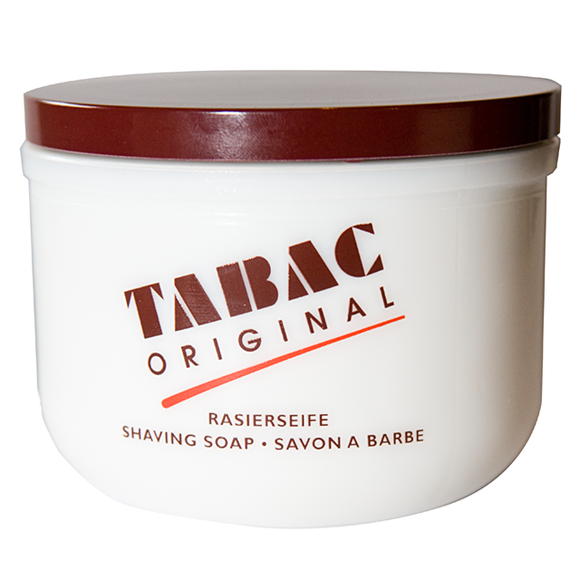 Tabac Original shaving soap in ceramic bowl