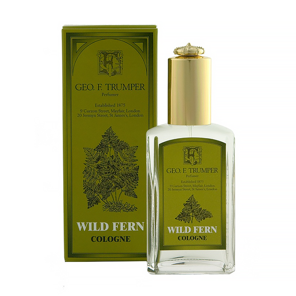 Trumpers Wild Fern Cologne 50ml atomiser