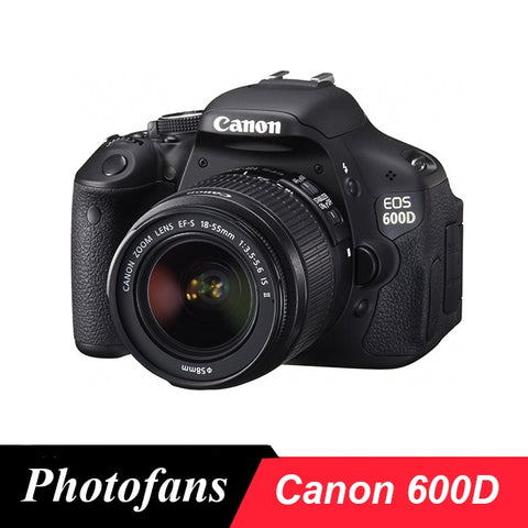 "Canon 600D Rebel T3i Dslr Digital Camera with 18-55mm lens -18MP -3.0"" View Vari-Angle LCD -1080p Video"
