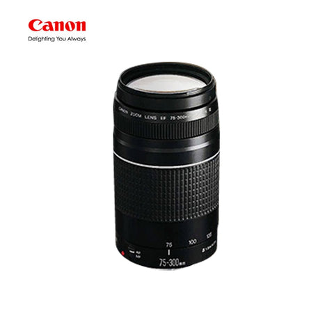 Canon Camera lens EF 75-300mm F/4-5.6 III Telephoto Lenses for Canon 1300D 600D 700D 750D 760D 60D 70D 80D 7D 6D T6 T3i T5i T6