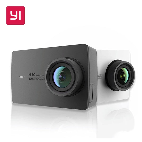 "YI 4K Action Camera International Edition Ambarella A9SE Cortex-A9 ARM 12MP CMOS 2.19"" 155 Degree EIS LDC WIFI Sports Camera"
