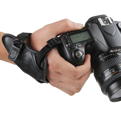DSLR Camera Hand Grip Wrist Shoulder Strap 1/4 Screw Mount for Canon Nikon Sony Pentax Fujifilm Camera Accessories