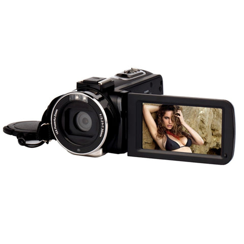 4K Camera WIFI Camcorder Kimire Ultra HD Digital Video Camera 48.0MP Recorder 3.0 Inch 270 Degree Rotation Touch Screen 16X Zoom