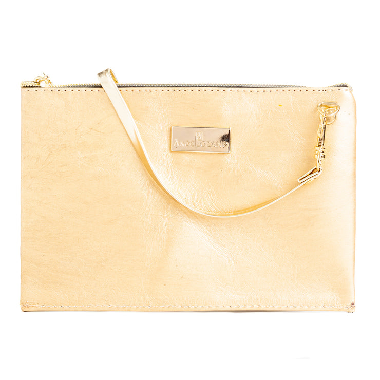 Katy Oro Mini Bolso Cincelado