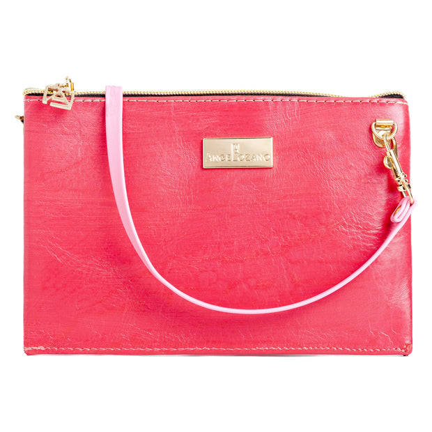 Katy Rojo Mini Bolso Cincelado