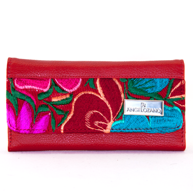 Cartera De Dama Mod. 102 Rojo by Angelozano