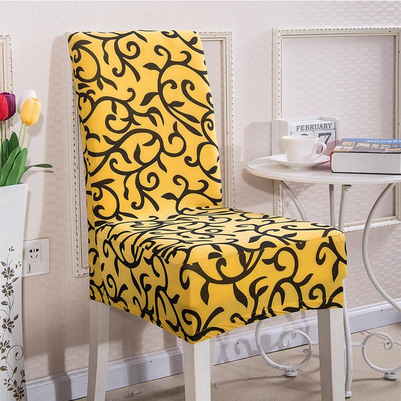Swell Elegant Spandex Elastic Stretch Chair Seat Cover Computer Short Links Chair Design For Home Short Linksinfo