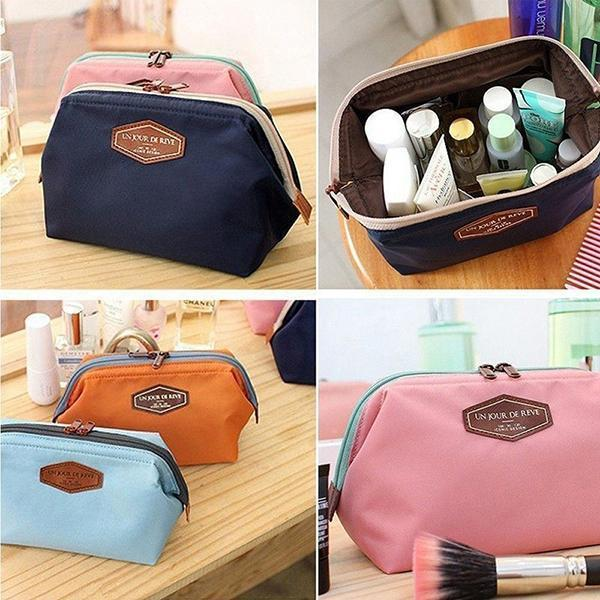 Multi-functional Cotton Portable Wash Cosmetic Bag