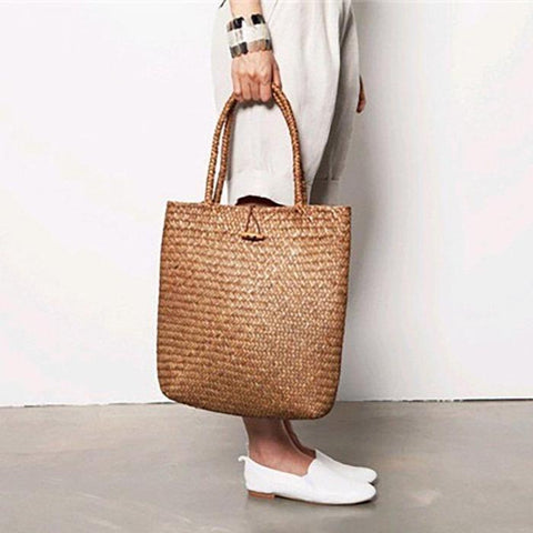 Women Vintage Shoulder Tote Bags Leather Handbags