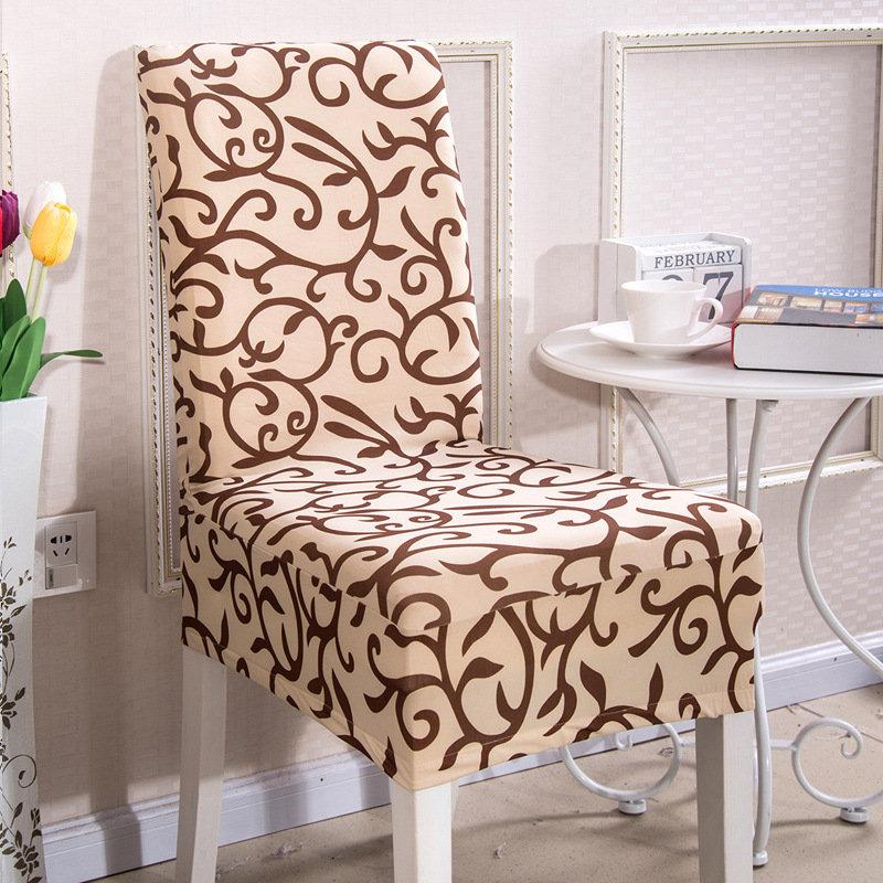 Brilliant Elegant Spandex Elastic Stretch Chair Seat Cover Computer Dining Room Wedding Kitchen Decor Short Links Chair Design For Home Short Linksinfo