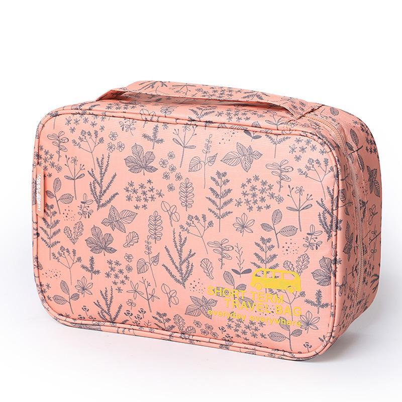 Waterproof Women Cosmetic Bag Makeup Organizer Pouch Hanging Toiletry Storage Bags