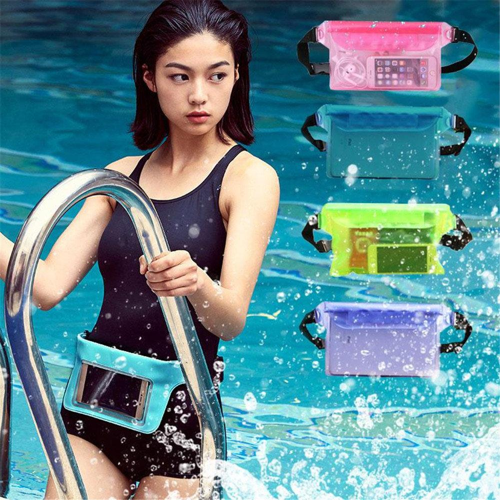 Travel Beach Swim Dry Bag Waterproof Surf Diving PVC Waist Pack Phone Camrea Storage Pouch