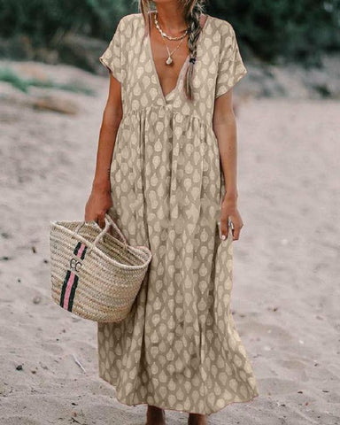 Bohemian Solid Fashion Sleeveless Maxi Dresses