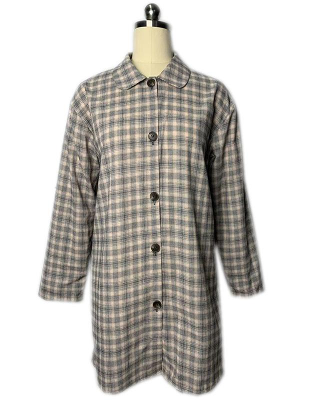 Women Fall Plaid Suits Fashionable Outwear Coat