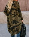 Cardigan Camouflage Snake Wine Coat Outwear Casual  Shirts & Tops