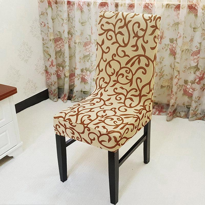 Amazing Elegant Spandex Elastic Stretch Chair Seat Cover Computer Dining Room Wedding Kitchen Decor Short Links Chair Design For Home Short Linksinfo