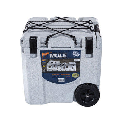 wheeled cooler white