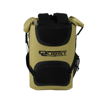Green backpack cooler
