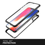 Case 360° para iPhone XS - Magnetic Ultra Resistencia 100%