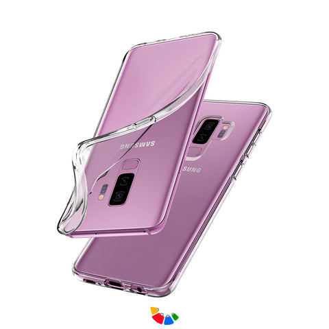 Funda Case para Samsung S9 Plus Transparente 100% Antishock