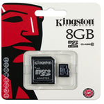 Micro SD 8GB Clase 4 - Kingston Canvas Select Original