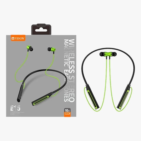 Audifonos Bluetooth Sport Yison E15 - Wirelless Earphones