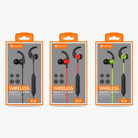 Audifonos Bluetooth Sport Yison E14 - Wirelless Earphones