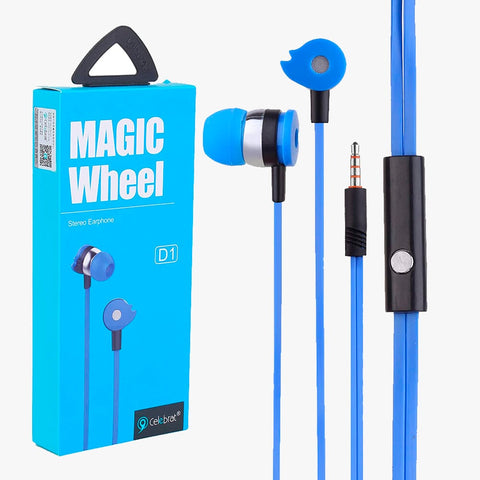 Audifonos Sport Celebrat D1 Magic Wheel Stereo Earphone
