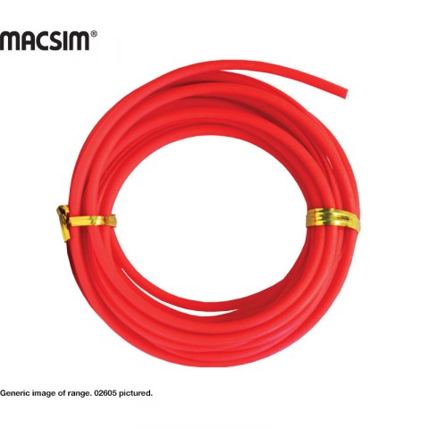 5m ROLL RED SPAGHETTI PLUG