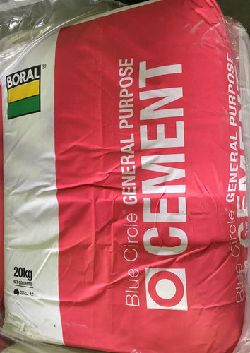 Boral GP GENERAL PURPOSE CEMENT BC 20 KG BAG