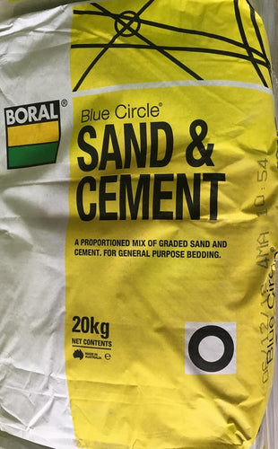 Boral SAND AND CEMENT BC 20 KG BAG