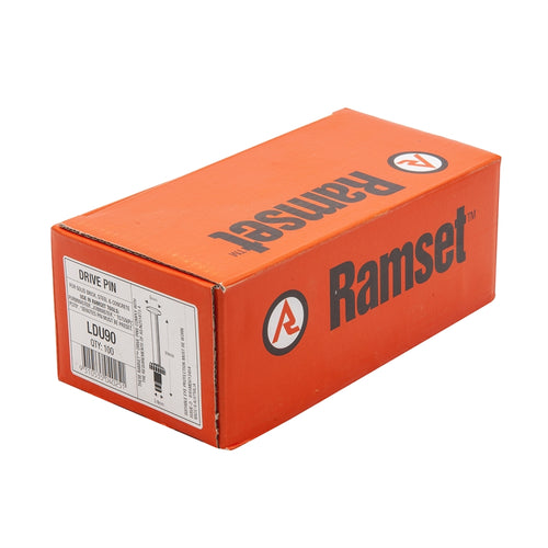 Ramset 8/9mm Drive Pin 3.8x90mm (Box of 100)