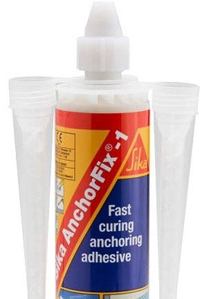 Sika Anchorfix 1 300ml Ctg (Fast Set - Fits Caulk Gun - 12 per box)