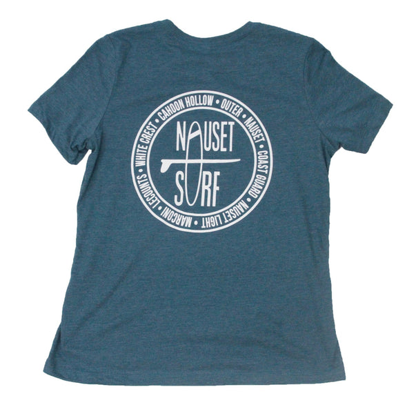 Beach Logo Women's Relaxed Tee - Nauset Surf Shop